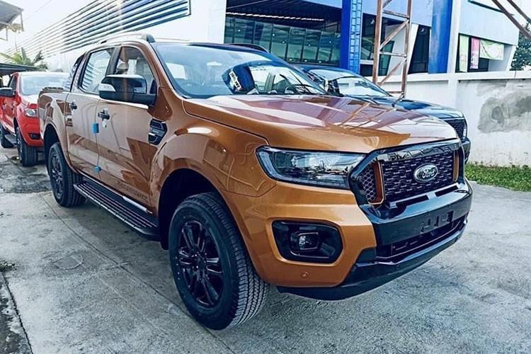 Can Tet, Ford Ranger Wildtrak 2021 ban thap hon gia de xuat