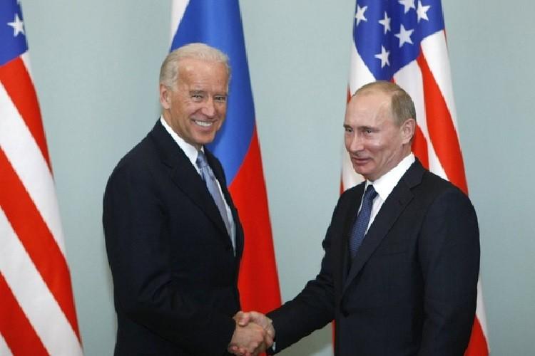 Tong thong Biden lan dau dien dam voi ong Putin