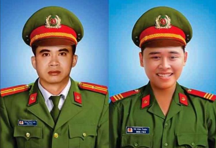 Truy tang bang To quoc ghi cong cho 2 canh sat hy sinh o Da Nang