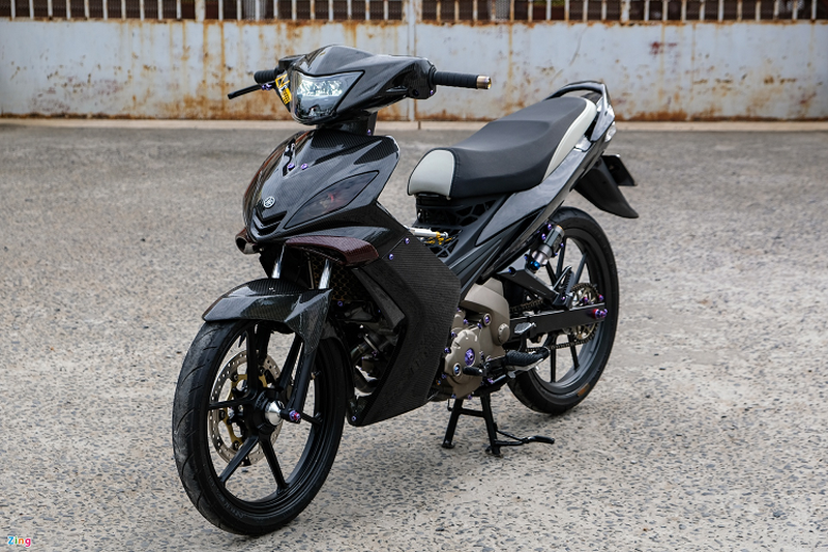Yamaha Exciter 135 duoc do dan vo carbon hon 170 trieu dong