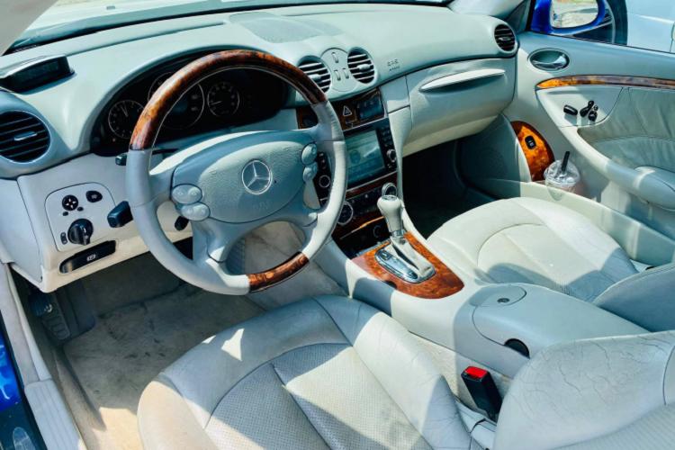 Can canh Mercedes-Benz CLK500 may V8 5.0L cuc hiem tai Viet Nam-Hinh-4