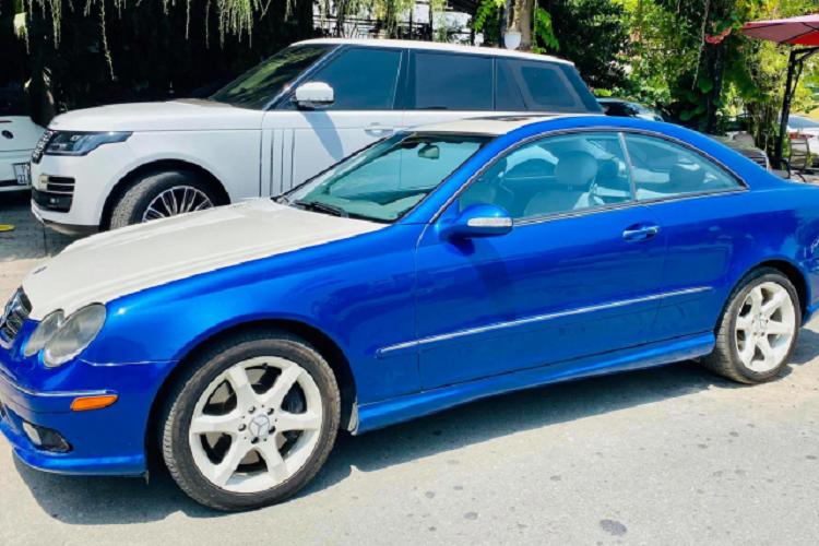 Can canh Mercedes-Benz CLK500 may V8 5.0L cuc hiem tai Viet Nam