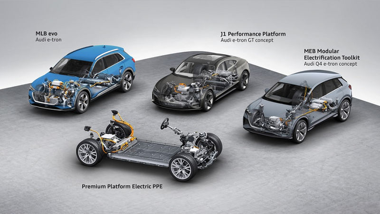 SUV hang sang chay dien Audi Q6 e-tron ra mat vao 2022-Hinh-2