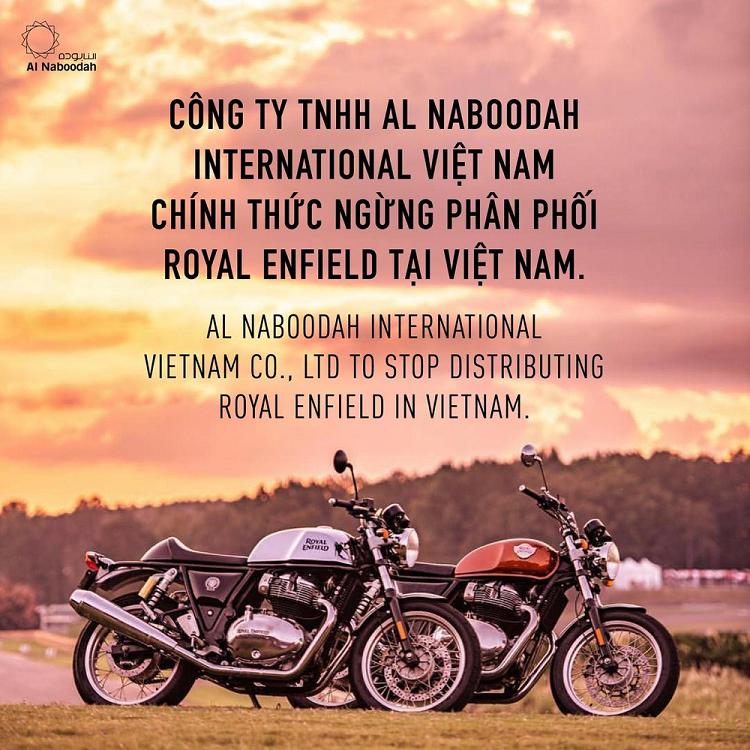 Doanh so kem, Royal Enfield chinh thuc roi thi truong Viet Nam