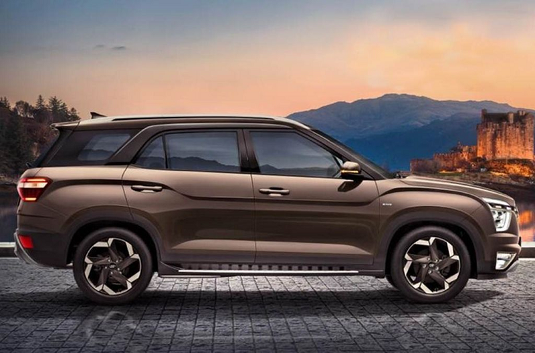 Hyundai Alcazar 2021 - CUV 7 cho co nho, gia