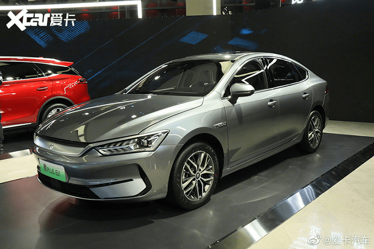 BYD Qin Plus EV - sedan dien tu 456 trieu dong tai Trung Quoc