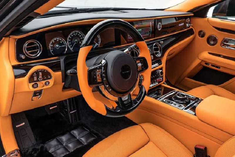 "Xe sieu sang Rolls-Royce Ghost 2021 moi ""lot xac"" nho Mansory-Hinh-2"