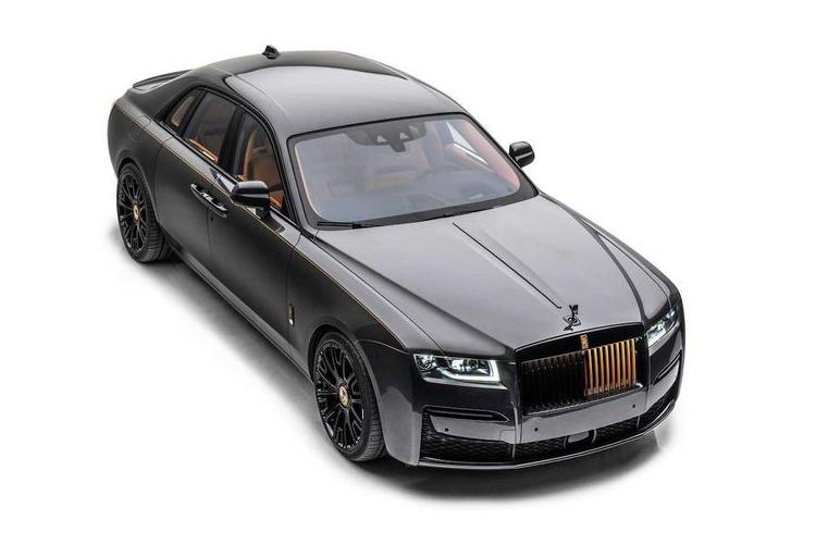 """Xe sieu sang Rolls-Royce Ghost 2021 moi """"lot xac"""" nho Mansory"""