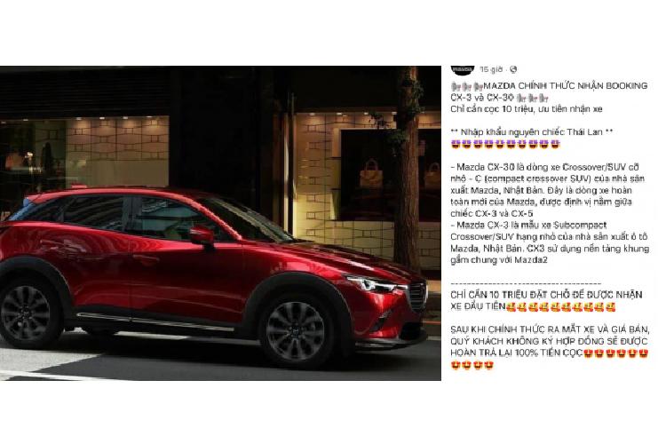 Mazda CX-3 va CX-30 moi tu 550 trieu dong sap ra mat Viet Nam?-Hinh-2