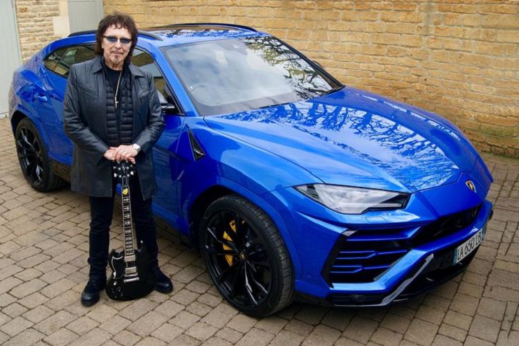 "Lamborghini Urus gia nhap doi "" xe khung"" cua rocker Tony Iommi"