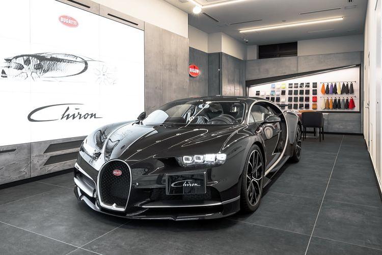 Bugatti mo showroom tai Nhat Ban, dam chat hang sieu xe Phap