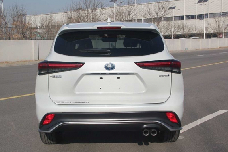 Xe sang Toyota Crown 2022 phien ban SUV
