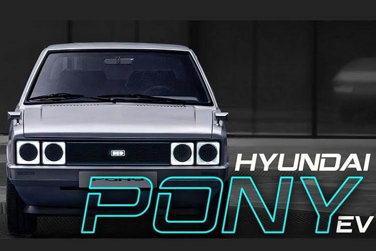 Hyundai Pony 1975 hoai co