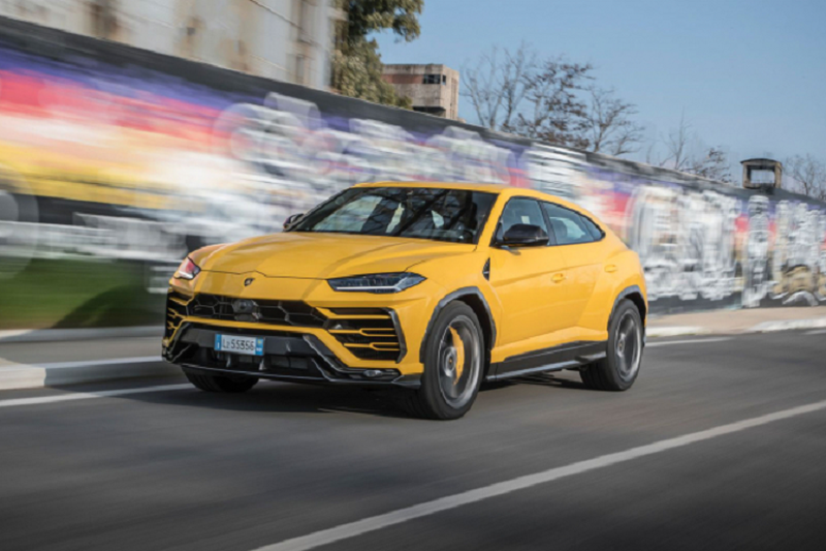 Lamborghini ban gan 2.500 xe trong quy I/2021, Urus ban chay nhat
