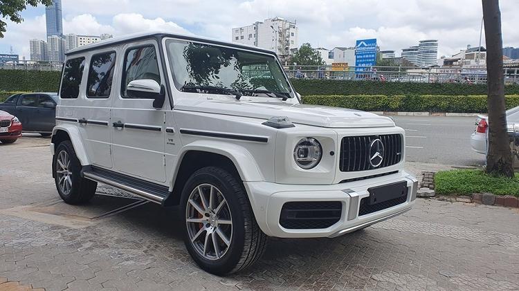 Sau Rolls-Royce Ghost, Ngoc Trinh tau Mercedes-AMG G63 hon 10 ty?-Hinh-3