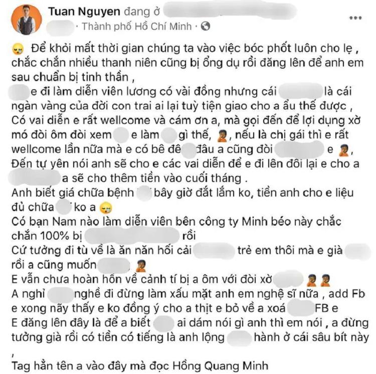 Minh Beo bi to