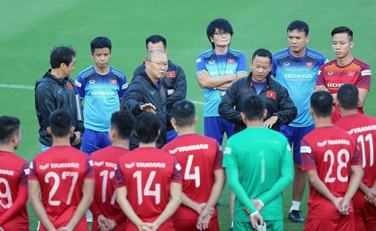Danh sach tuyen Viet Nam chua chot: Ong Park vi dau ma thong tha