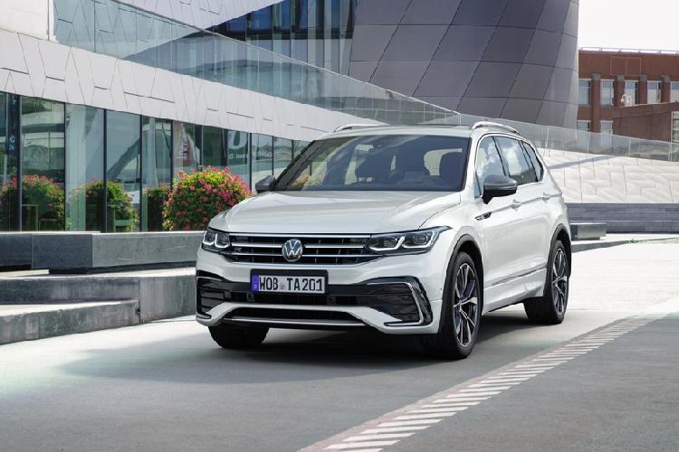 Volkswagen Tiguan Allspace 2021 nang cap thiet ke va cong nghe