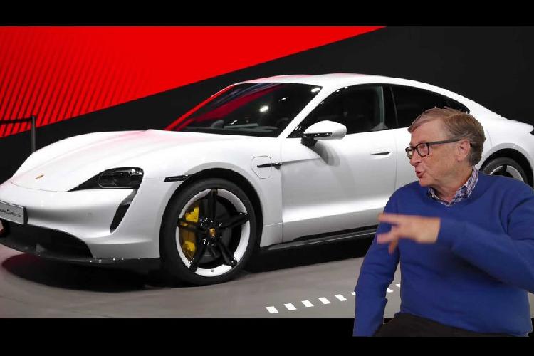 """Ty phu Bill Gates dich thi """"fan ruot"""" thuong hieu Porsche"""