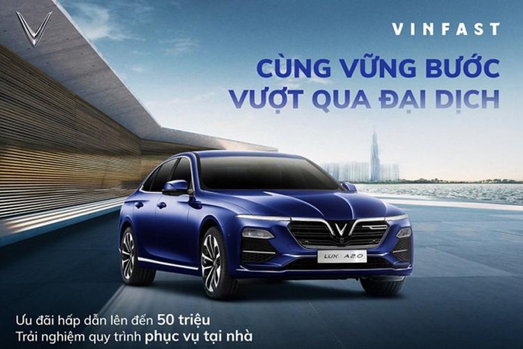 Đại lý giảm tới 100 triệu đồng cho khách chốt Vinfast Lux A2.0