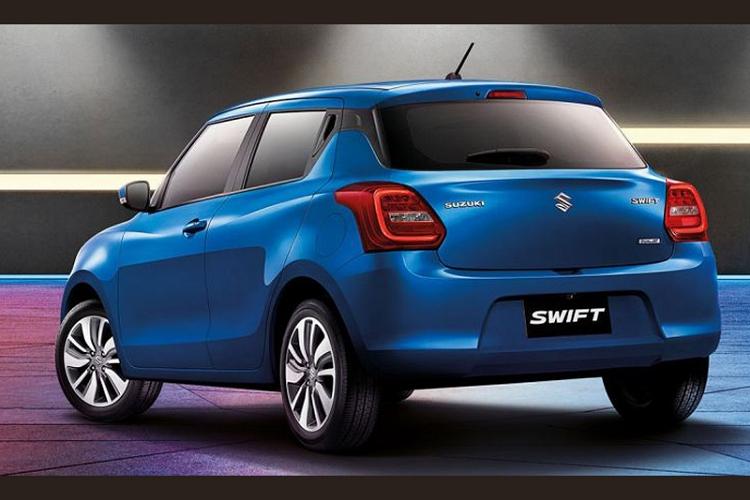 Dai ly nhan coc, Suzuki Swift 2021 khoang 549 trieu tai Viet Nam-Hinh-2