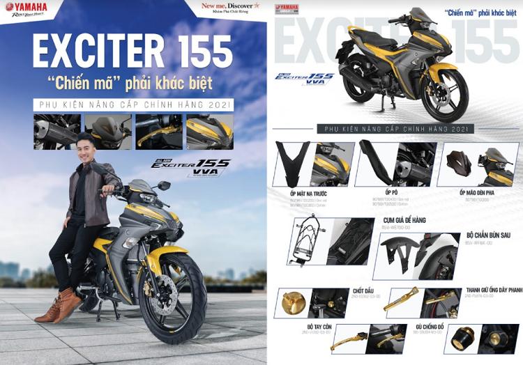 Yamaha Exciter 155 VVA 2021 ban gioi han duoc trang bi nhung gi?-Hinh-2