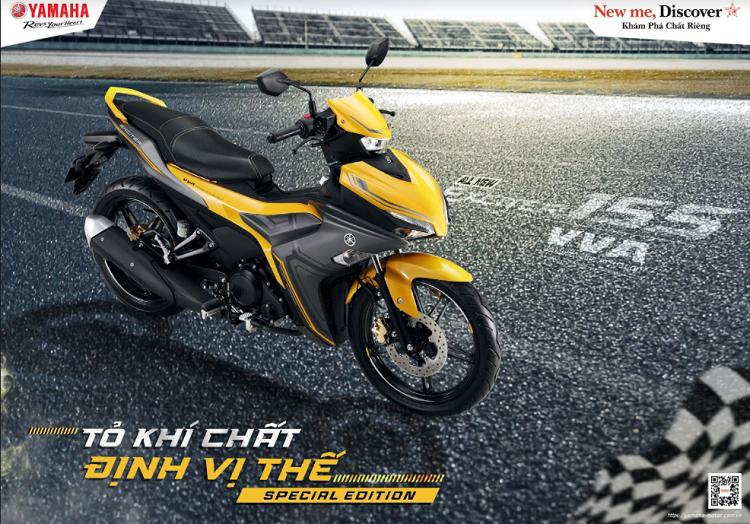 Yamaha Exciter 155 VVA 2021 ban gioi han duoc trang bi nhung gi?