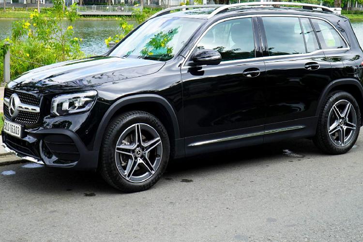 Mercedes-Benz GLB da qua su dung dat hon