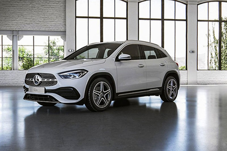 Mercedes-Benz GLA 2021 tu 1,5 ty dong tai Thai, som ve Viet Nam-Hinh-11