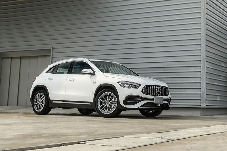 Mercedes-Benz GLA 2021 tu 1,5 ty dong tai Thai, som ve Viet Nam