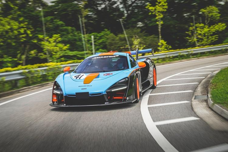 Dai gia Singapore tau McLaren Senna LM trieu do