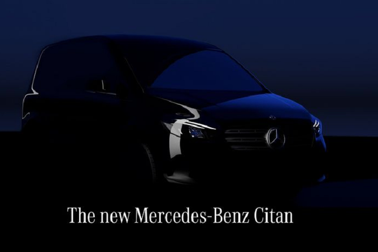 MPV hang sang Mercedes Citan 2022