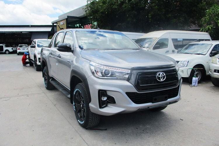 Toyota Hilux tuong lai se duoc trang bi khung gam toan cau