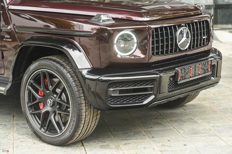 Can canh Mercedes-AMG G63 mau dac biet, hon 11 ty tai Ha Noi-Hinh-2