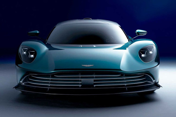 Aston Martin Valhalla hybrid moi - nhanh, nhe va tiet kiem hon