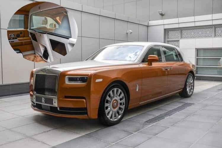 Rolls-Royce Phantom trieu do dac biet nay sap ve tay dai gia Viet