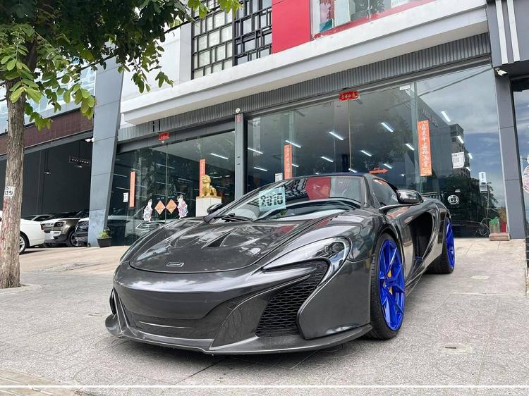 Ngam McLaren 650S Spider chuc ty dong cua dai gia Campuchia-Hinh-2