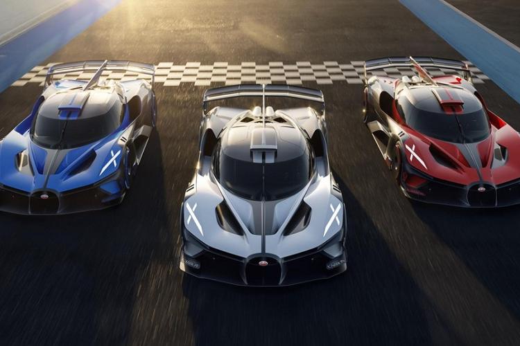Bugatti se san xuat 40 xe Bolide, gia ban 107 ty dong