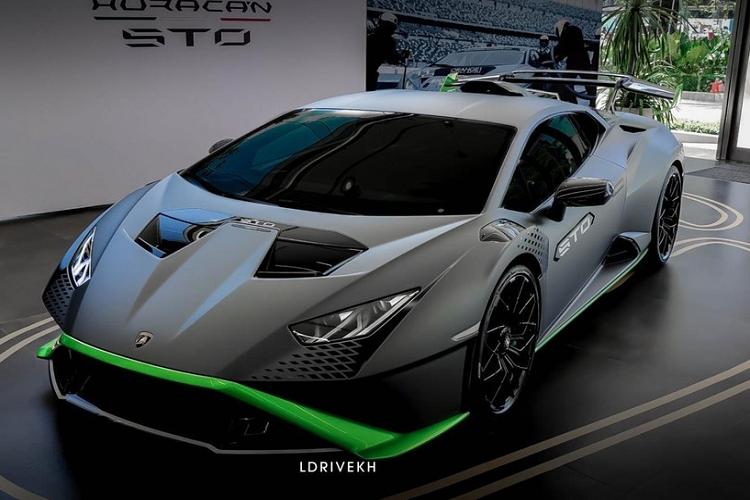 "Lamborghini Huracan STO ve den Campuchia, dai gia Viet ""phat them""-Hinh-3"