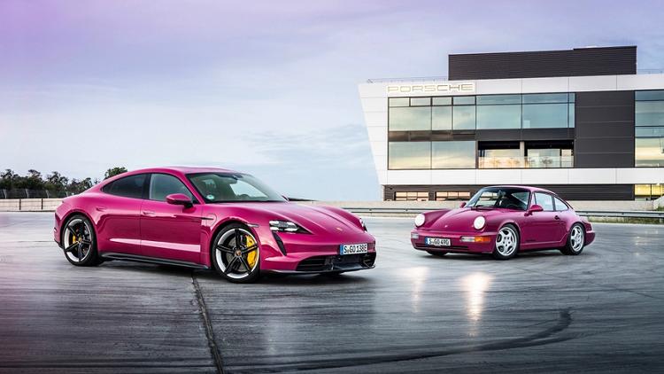 Porsche Taycan 2022 bo xung bi tinh nang do xe bang smartphone-Hinh-3
