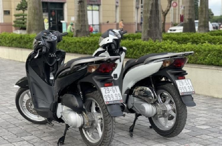 Bo doi Honda SH chao ban hon 2 ty dong tai Ha Noi