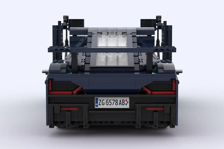 Sieu xe dien Rimac Nevera duoc lam tu hon 2.000 manh ghep Lego-Hinh-3