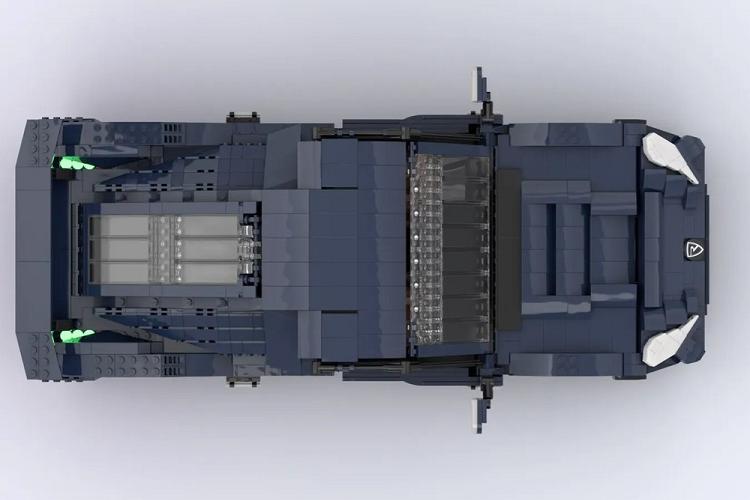 Sieu xe dien Rimac Nevera duoc lam tu hon 2.000 manh ghep Lego-Hinh-5