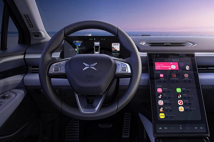 Xpeng P5 2021 - Doi thu Tesla Model 3 chi tu 556 trieu dong-Hinh-5