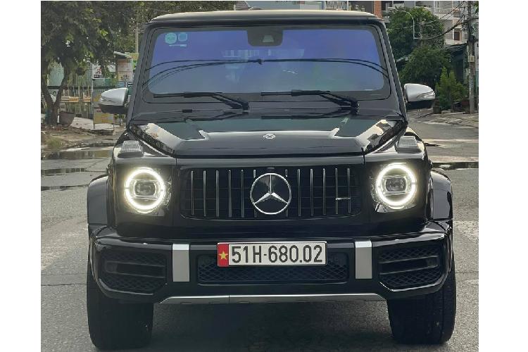Dai gia Cu Chi ban Mercedes-AMG G63 hon 10 ty de mua... 1 nhanh lan