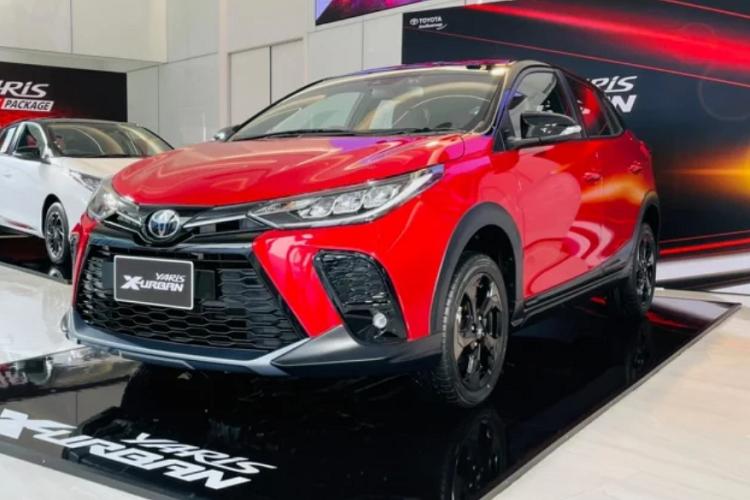 Toyota Yaris X-Urban 2022 - crossover nang dong tu 419 trieu dong