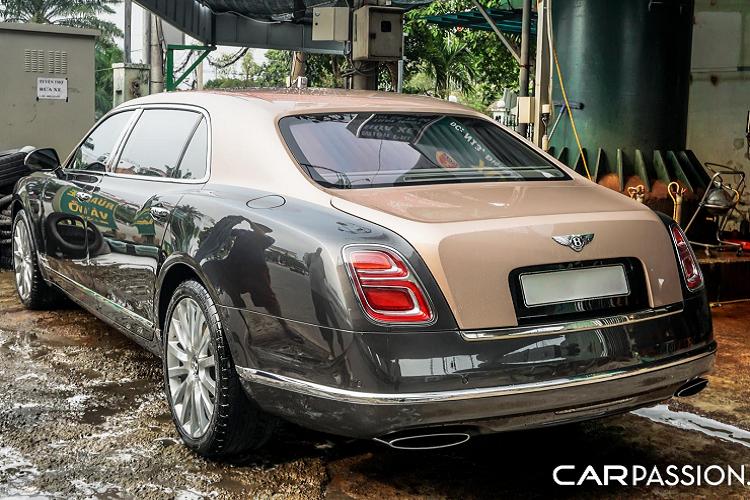 Chiec Bentley Mulsanne EWB nay khong duoi 30 ty tai Sai Gon-Hinh-3