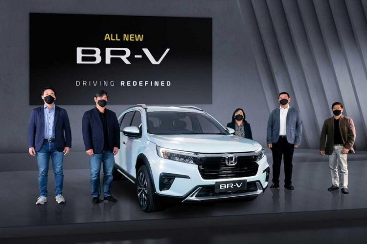 Can canh Honda BR-V 2022 vua chinh thuc ra mat Dong Nam A