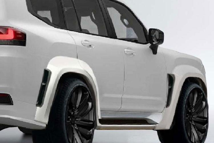 Toyota Land Cruiser 300 Series do