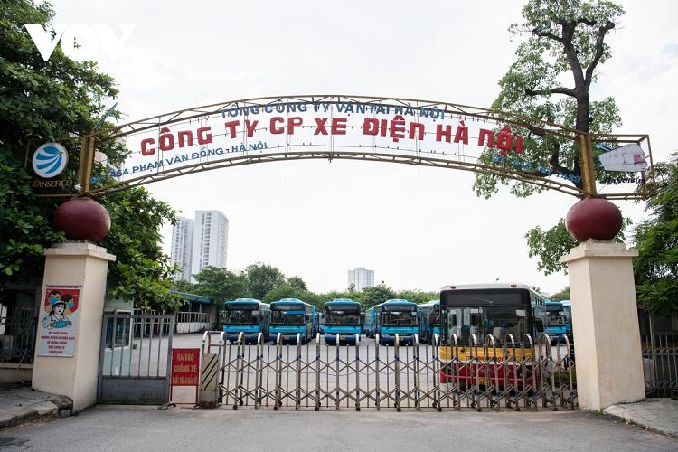 Cac doanh nghiep van tai tai Ha Noi san sang de ben xe, xe buyt hoat dong tro lai-Hinh-5